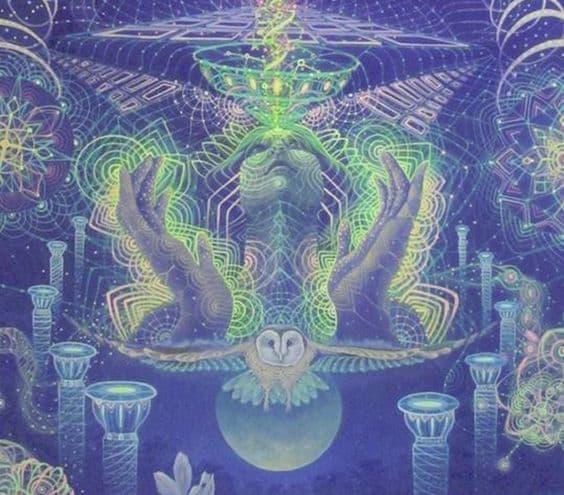 Чувашская магия: Бог и добрые духи