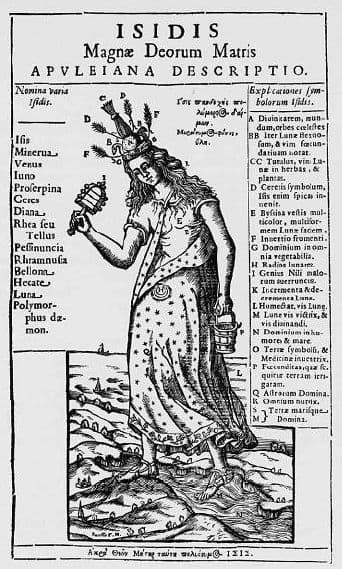 Исида: ее имена и символы